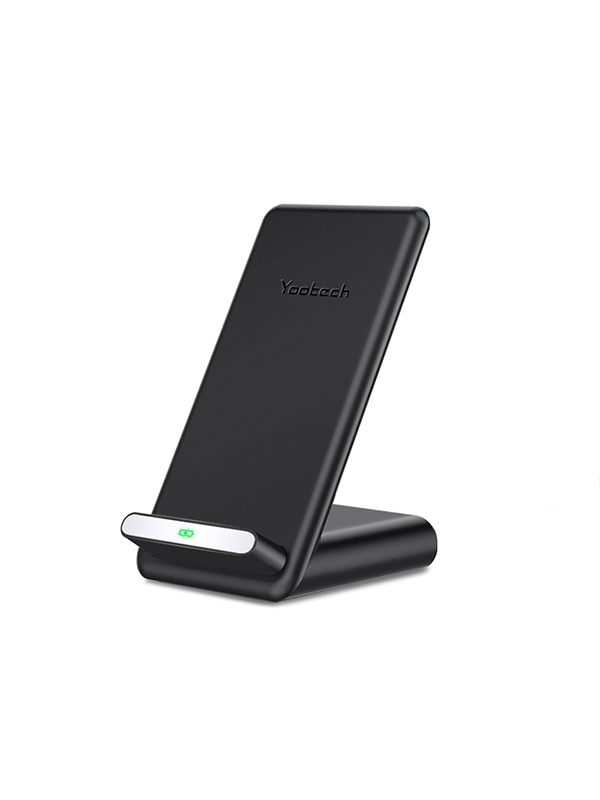 Yootech Qi Standard Fast Wireless Charger Stand with Cooling Fan